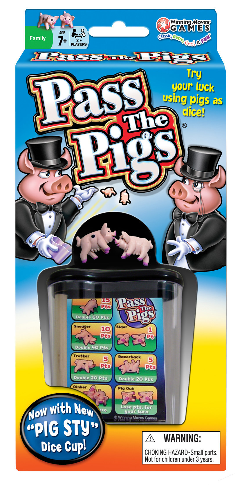 Pass The Pigs(R) Game in Packaging - Winning Moves USA
