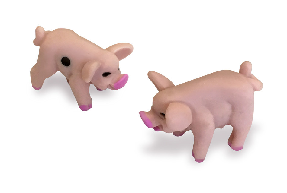 Hugh and Jack Pigfellow from Pass The Pigs(R) - by Winning Moves USA