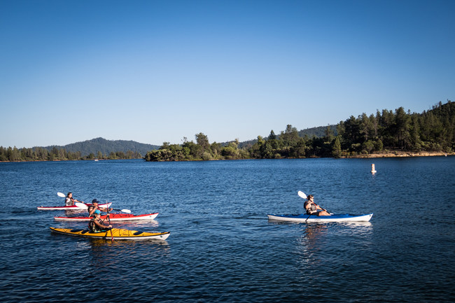 Take your meeting or event outside in Redding, CA