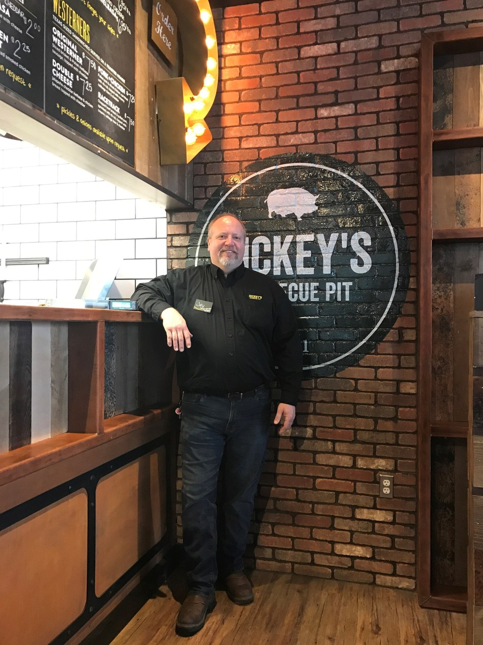 Owner/Operator, Jay Roney opens his first Dickey's Barbecue Pit location in Novi.