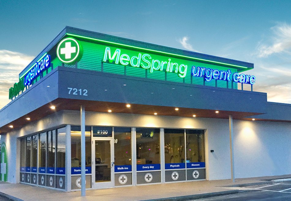 MedSpring Urgent Care opens its 9th Austin-area center this week. It's the company's 40th MedSpring location overall.