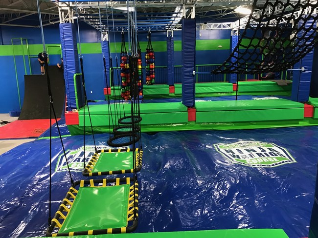 Rebounderz of Sunrise's Ninja Warrior Course