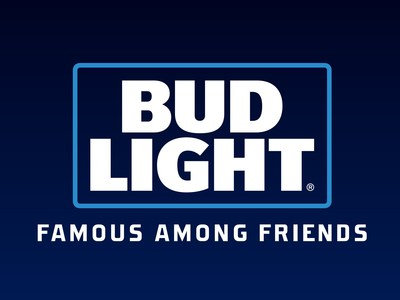 """Bud Light's newly announced 2017 tagline is """"Famous Among Friends."""""""