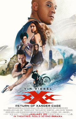 IGN Entertainment and Paramount Pictures join forces on exclusive XXX: RETURN OF XANDER CAGE Red Carpet Movie Premiere Live Stream on Facebook LIVE.
