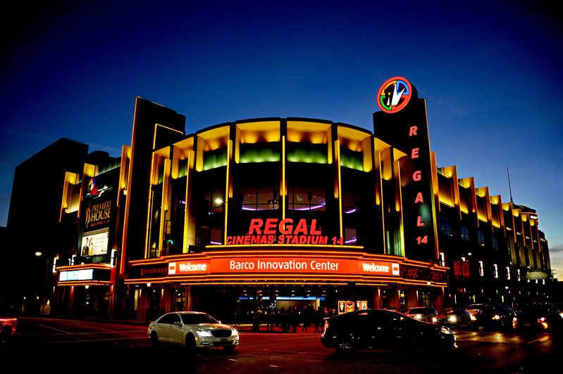 Regal L.A. LIVE: A Barco Innovation Center
