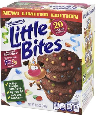 Entenmann's(R) Little Bites(R) Chocolate Party Cakes