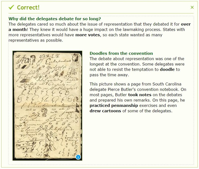 IXL Social Studies for middle school includes standards-aligned history, civics, geography and economics content. Topics include ancient Egypt, countries of Africa, the American Revolution, the Bill of Rights, supply and demand curves and more.