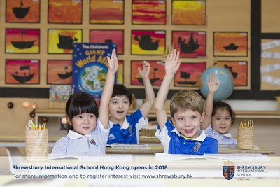 Shrewsbury International School Hong Kong is a primary school that plans to cater for children aged 3-11 years. Founded by Royal Charter in 1552, Shrewsbury School is one of Britain's best reputed schools and among the original nine 'Great Schools' of Britain. Located in the Tseung Kwan O district of Hong Kong, it is being purpose-built to provide age-appropriate environments and function-specific space to suit the needs of particular year groups. Register interest at www.shrewsbury.hk (PRNewsFoto/Shrewsbury Int'l School HK)