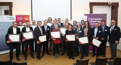 Austrian National Champions (PRNewsFoto/European Business Awards and RSM)