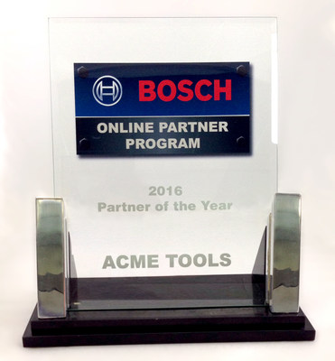 Acme Tools Named Bosch Online Partner of the Year