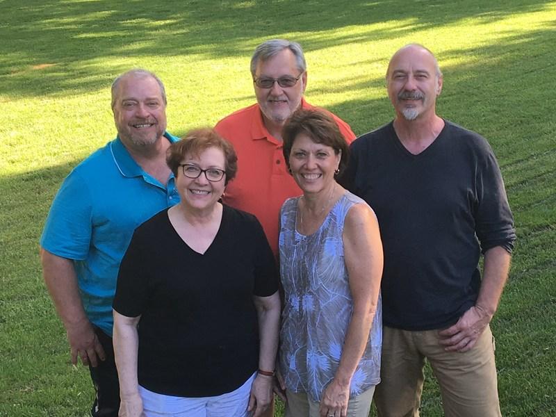 Ken Miller, Marshall Miller, Del Miller, Myra Miller, and Lynette Miller Ballard