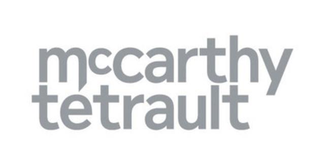 McCarthy Tétrault LLP (CNW Group/McCarthy Tétrault LLP)