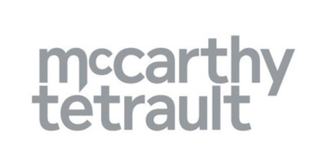 McCarthy Tétrault LLP (Groupe CNW/McCarthy Tétrault LLP)