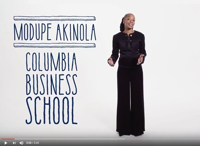 Modupe Akinola, Columbia Business School
