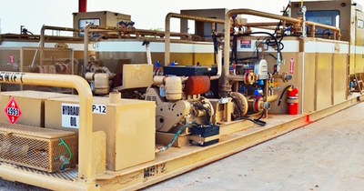 Greenwell's Data Acquisition System (DAS) mixing plants provide optimal chemical delivery.