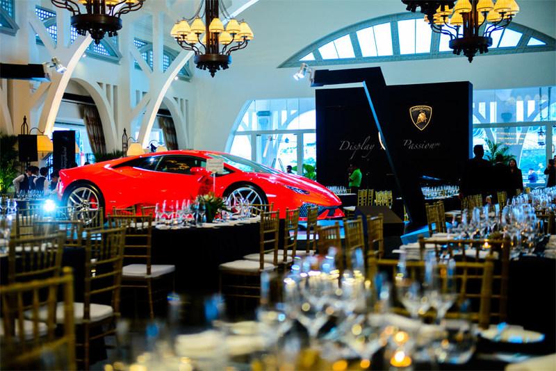 Lamborghini Singapore Debut Event