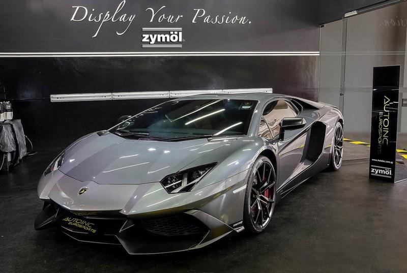 Lamborghini Aventador at Studio Zymol