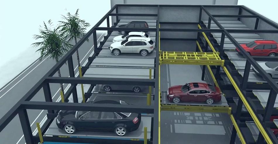 Fully Automated Aisle Design