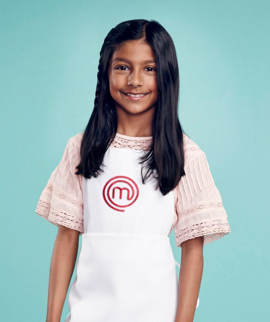 Avani Shah will compete on MasterChef Junior premiering on February 9 on FOX.