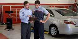 Toyota dealership in Vacaville offers complimentary vehicle service and roadside assistance through ToyotaCare.