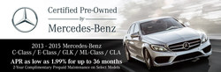 With current Mercedes-Benz Certified Pre-Owned offers available at Aristocrat Motors, luxury shoppers are able to take advantages of competitive financing and pre-paid maintenance on select models.