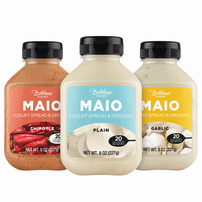 Bolthouse Farms MAIO(TM), a New Line of Refrigerated Yogurt-Based Spreads, Offers Sandwich and Condiment Lovers a Guilt-Free Option
