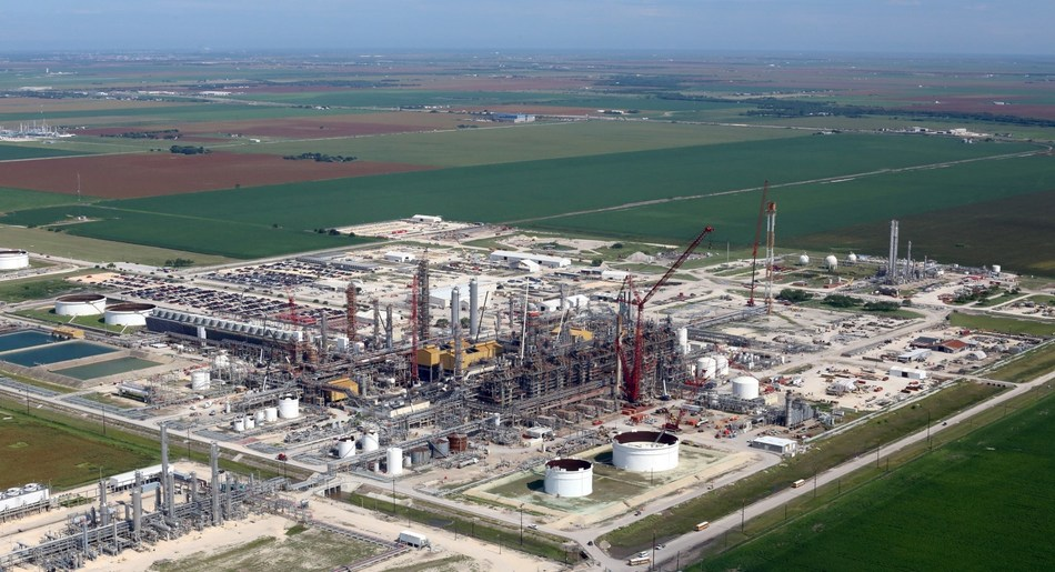LyondellBasell's 800 million pounds-per-year ethylene expansion project in Corpus Christi, Texas, increases ethylene capacity at the facility by 50 percent, from 1.7 billion pounds-per-year to 2.5 billion pounds-per-year, and completes the company's multi-year plan to increase annual ethylene capacity in the U.S. by two billion pounds.