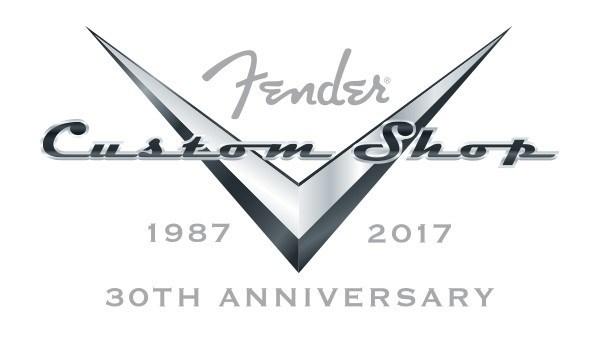 Fender Custom Shop 30th Anniversary Logo