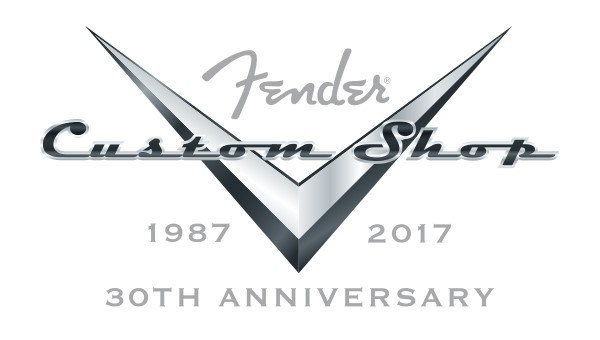 Fender Custom Shop 30th Anniversary Logo