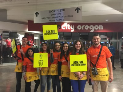 The SMI Solutions team raised funds at a recent Portland Trailblazers game with a 50/50 raffle. All proceeds from the raffle and fundraising efforts benefitted Portland-based charity, Latino Network.