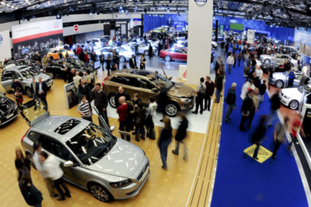 The Montréal International Auto Show which starts tomorrow will mark the 15th anniversary for the major consumer show at the Palais des congrès de Montréal. (CNW Group/Palais des congrès de Montréal)