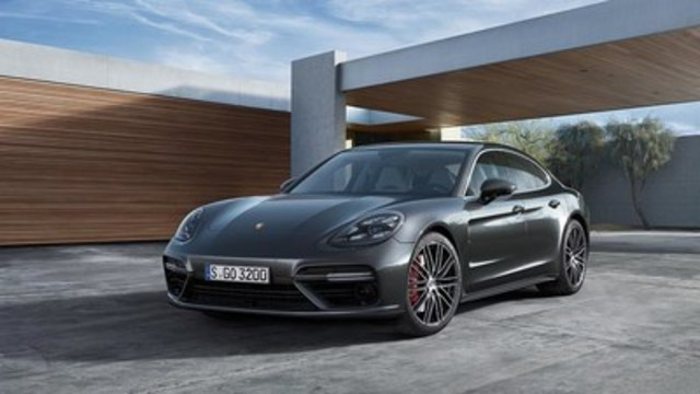 The new 2017 Porsche Panamera. (CNW Group/Porsche Cars Canada)