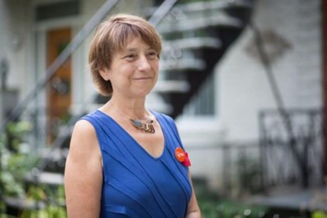 Françoise David (Groupe CNW/Aile parlementaire de Québec solidaire)