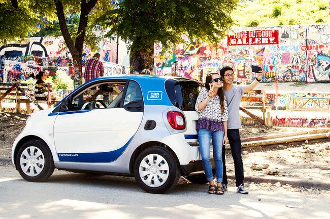 In financial year 2016, car2go, the market leader in flexible, one-way carsharing grew its customer base by 43-percent to 2.2 million global members.