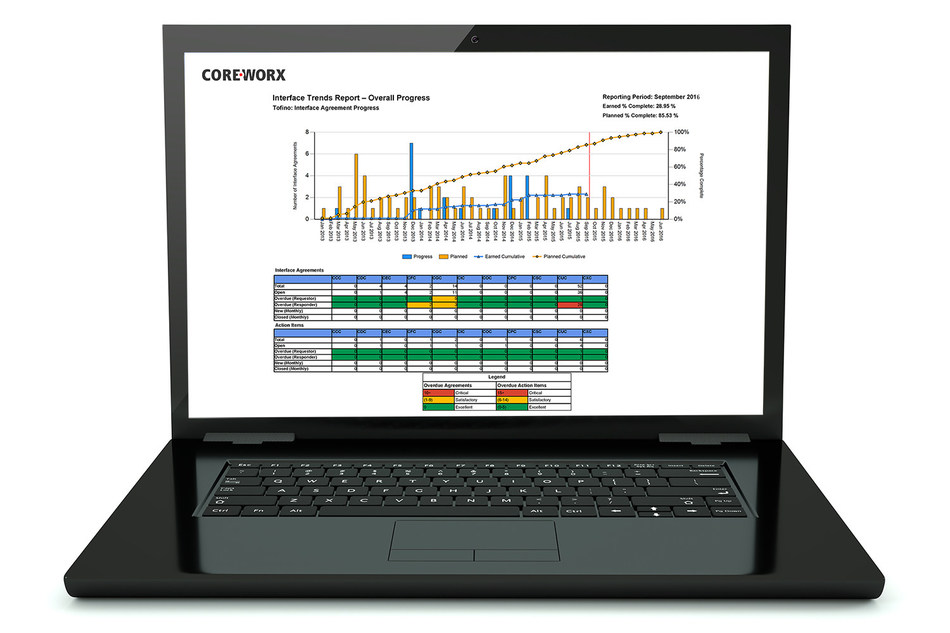 Coreworx Interface Management for Engineering and Construction Projects