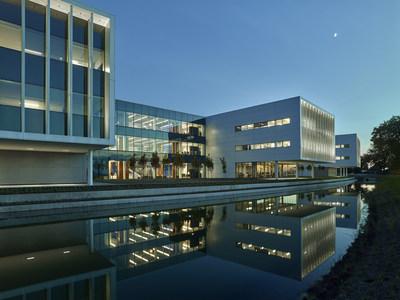 Roche Diagnostics North American headquarters in Indianapolis, IN.
