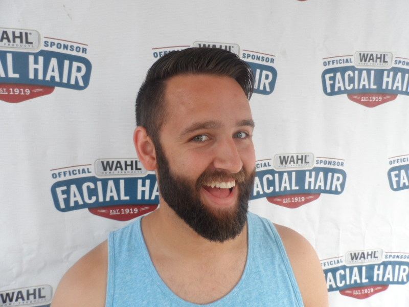 Wahl searched far and wide for facial hair fanatics. Congratulations to Jeremy Davis from Chicago for having the winning whiskers and being selected as the new Wahl Man of The Year.