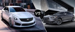 The 2017 Cadillac CTS-V and 2017 Cadillac CT6 have the performance and features to be able to completely overwhelm the competing 2017 Genesis G90 and 2017 Genesis G80.