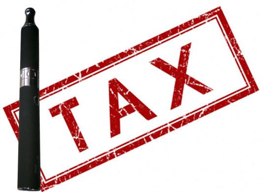 40% taxation on vapor business