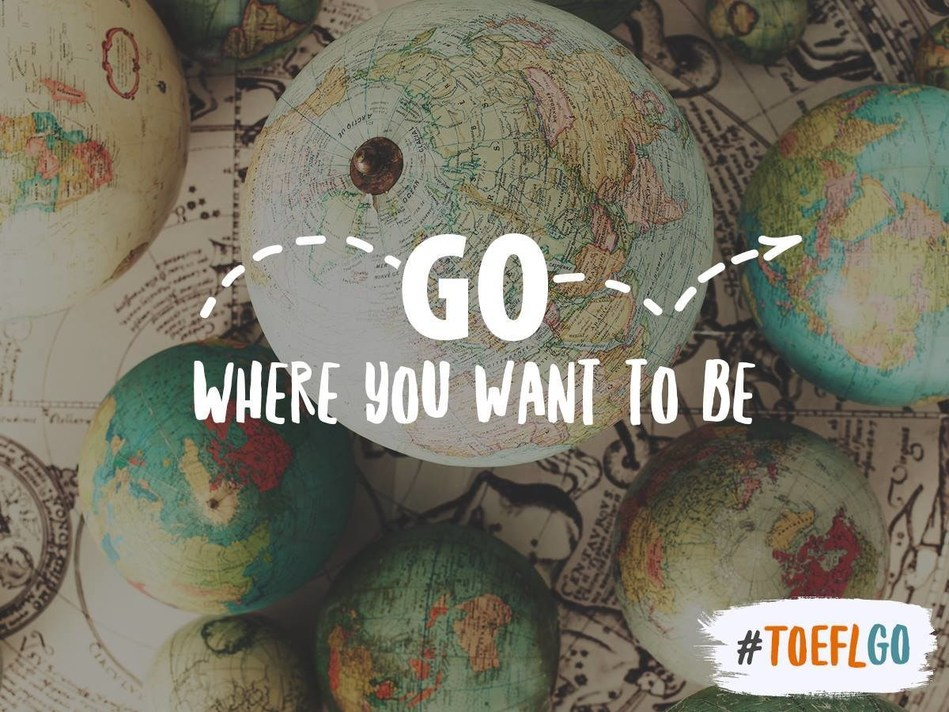 """Start your study abroad journey today! Beginning January 25, you will have full access to the TOEFL MOOC, """"TOEFL Test Preparation: The Insider's Guide,"""" a free, six-week prep course developed by the experts who create, administer and score the TOEFL test. (PRNewsFoto/ETS-TOEFL)"""