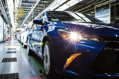 Camry assembled in Toyota's Georgetown, KY plant
