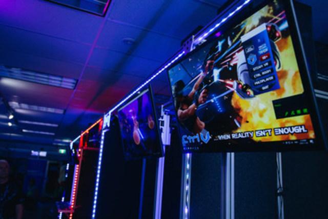Ctrl V Waterloo - Canada's First Virtual Reality Arcade (CNW Group/Ctrl V)