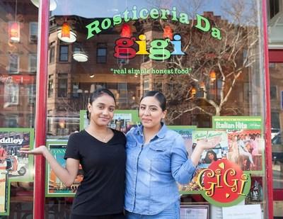 Lydia Rodriguez, left, and Maritza Armengolt, manage Rosticeria Da Gigi.