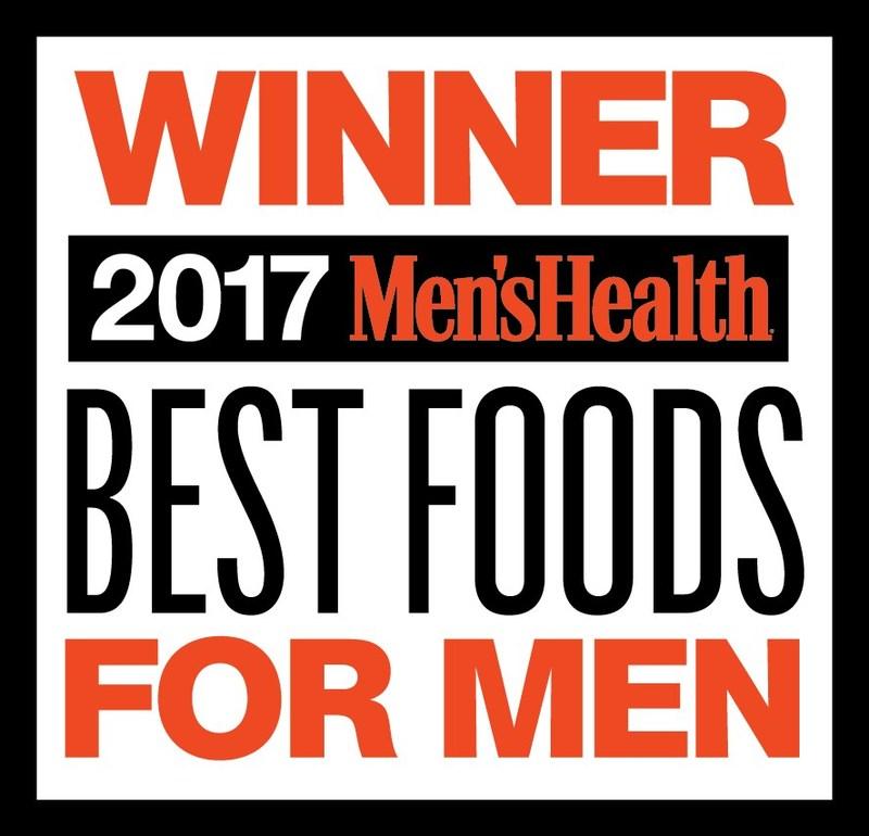 "Men's Health - ""Best Food for Men 2017"" Logo"
