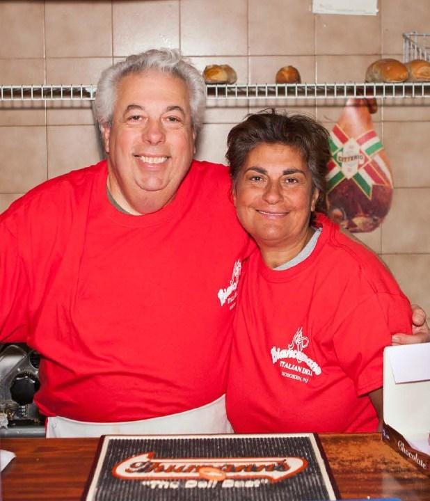 Pietro and Teresa Biancamano, owners of M&P Biancamano.
