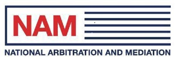 NAM (National Arbitration and Mediation) Logo
