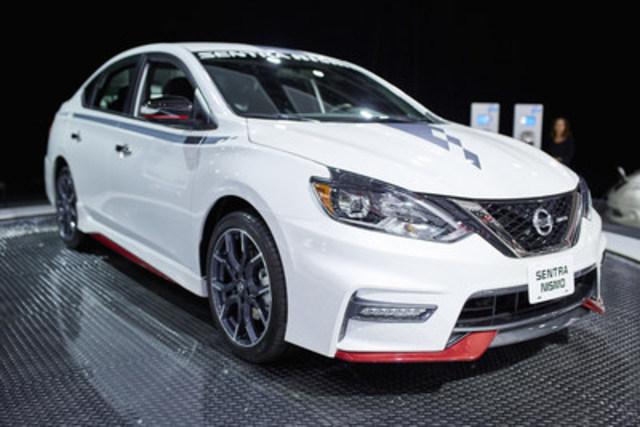 La Nissan Sentra NISMO 2017 (Groupe CNW/Nissan Canada Inc.)