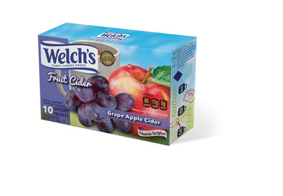 Welch's Fruit Ciders in instant packets