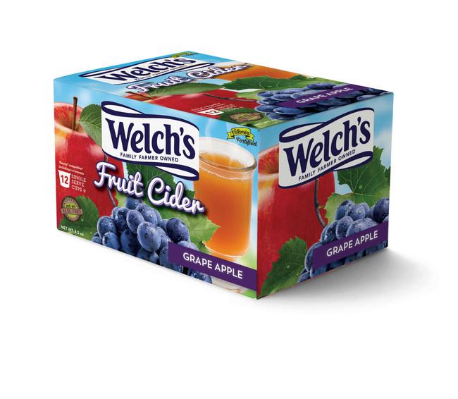 Keurig compatible single serve Welch's Fruit Ciders