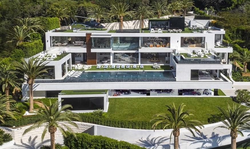Modernste villa der welt innen  Teuerste Villa in den USA für 250 Millionen USD zu verkaufen ...
